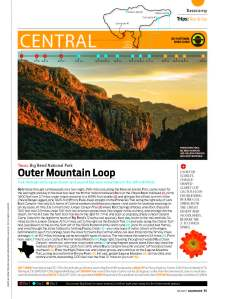 Rip & Go: Outer Mountain Loop, Big Bend National Park